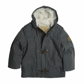[ALPHA INDUSTRIES] Kids Harrington Toggle_헤링본 그레이